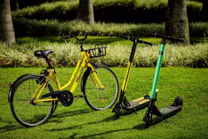 grow tira bikes de circulação e deixa operação em 14 cidades